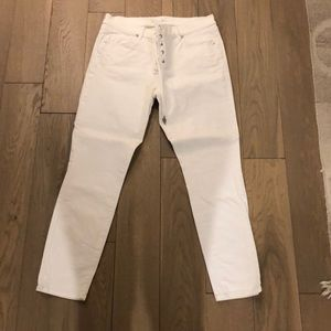 Ann Taylor loft white jeans